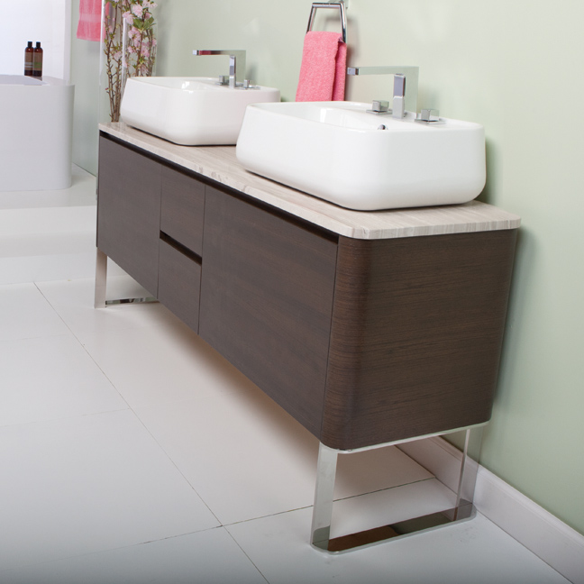 Lacava has some beautiful new vanities and they 39 re made in for Bathroom fixtures san jose