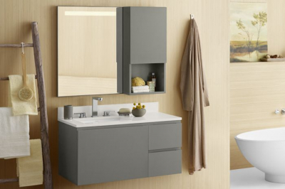 Hip and livable Ronbow vanity styles
