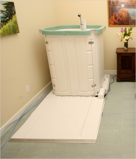 Portable Handicapped Showers. 4 ways to make a shower accessible ...