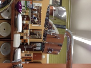 """$200 Sale 7 1/8"""" diameter, 2"""" thick with 9"""" arm in Chrome. List for both is $863."""