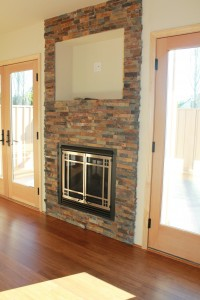 Living Room Fireplace waiting for your TV