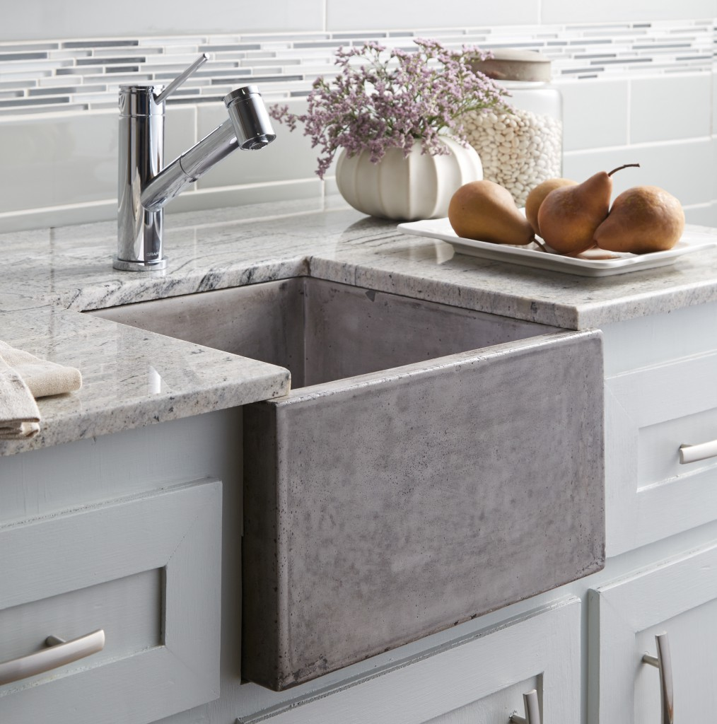 Exceptionnel Concrete Farmhouse Sink By Native Trails (NativeStone Ventana In Ash Finish)