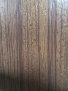 The wood grain