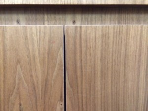 Close Up of the wood. Available in about 20 finishes!